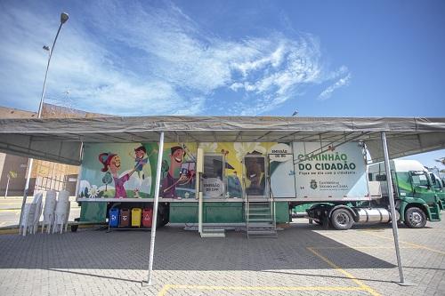 Ceasa-CE recebe o Caminhão do Cidadão em Maracanaú