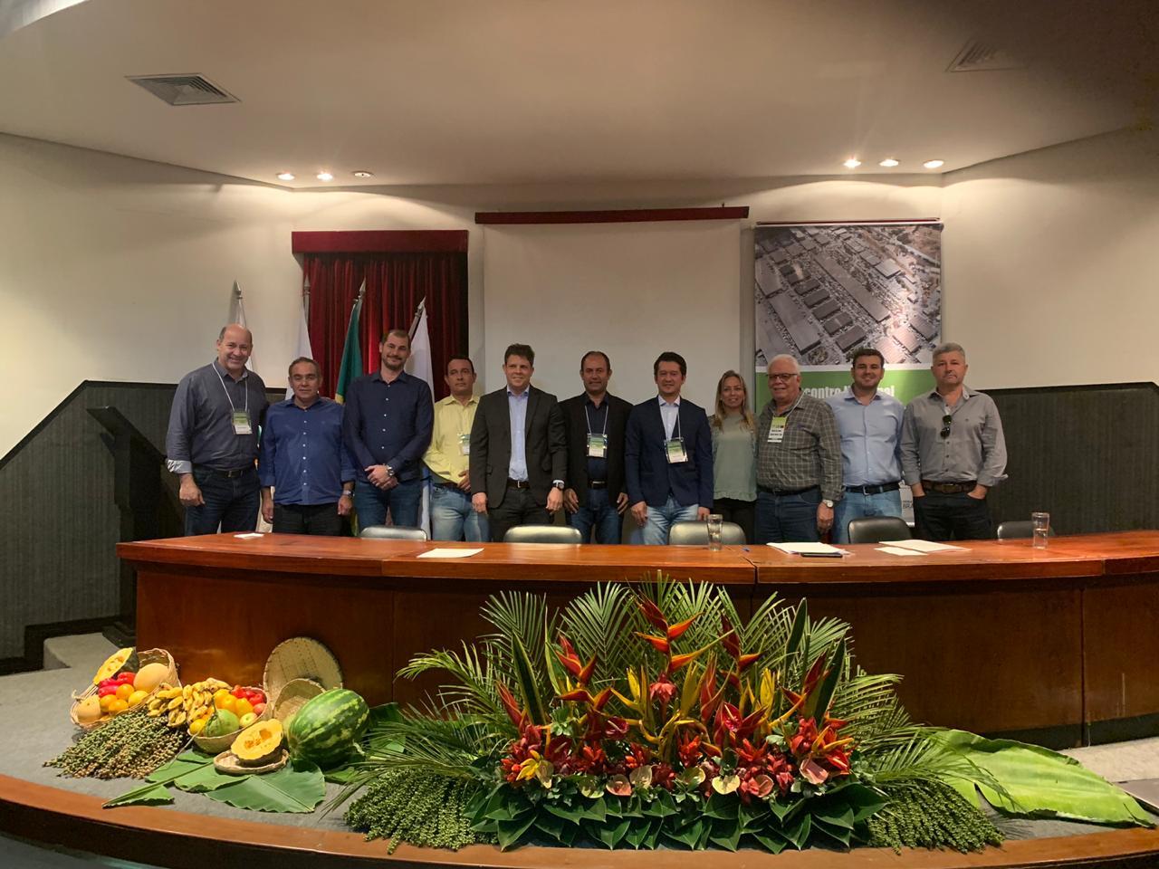 Presidente da Ceasa-CE participa de encontro da Abracen e Brastece em Belo Horizonte