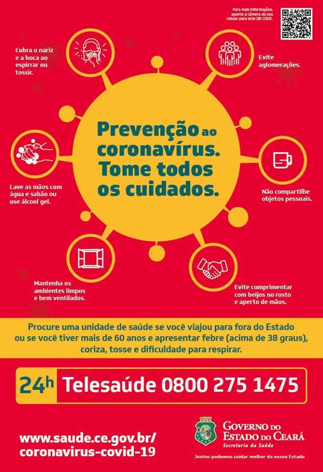Governo do Ceará disponibiliza teleatendimento 24h